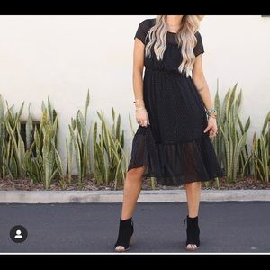 Black dress size small 🖤 New with Tags